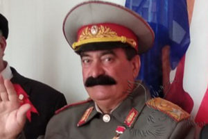Двойник Сталина на праздник Москва