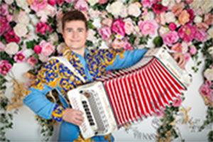 Гармонист на юбилей Москва