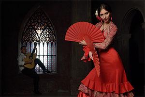 Испанские музыканты ансамбль испанского танца Фламенко на юбилей Москва