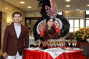 Леди фуршет на праздник, свадьбу, корпоратив в Москве