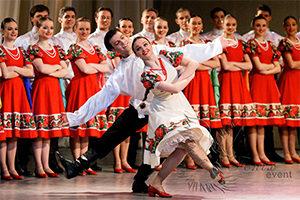 Русский народный ансамбль на юбилей Москва
