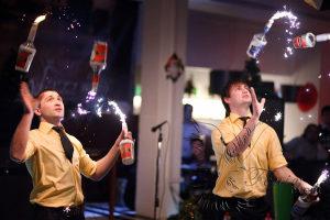 Заказать бармен шоу на юбилей Москва