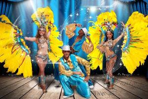 латиноамериканское шоу на юбилей Москва