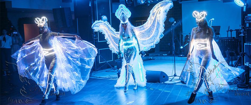 Заказать световое шоу в Москве на праздник,свадьбу, корпоратив