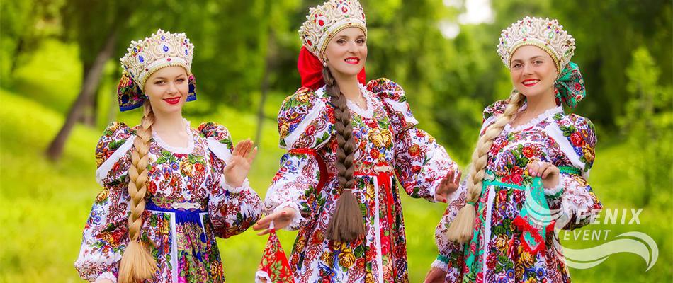 Заказать народный коллектив на праздник в Москве