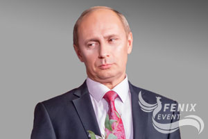 Двойник Путина заказать на встречу гостей велком свадьбу праздник корпоратив Москва