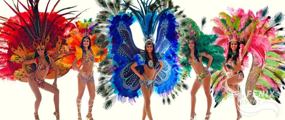 Заказать бразильское шоу в Москве на праздник корпоратив свадьбу юбилей и новый год