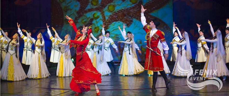 Лезгинка на свадьбу, юбилей и праздник в Москве - заказать кавказские танцы
