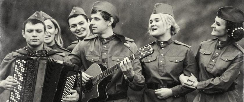 Профессиональные артисты и шоу программа на День Победы 9 мая заказать Москва